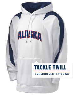 Alaska Air National Guard Holloway Men's Sports Fleece Hooded Sweatshirt with Tackle Twill