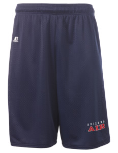"Arizona Air National Guard  Russell Deluxe Mesh Shorts, 10"" Inseam"