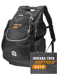 Indiana Tech Warriors  Embroidered OGIO Bounty Hunter Backpack