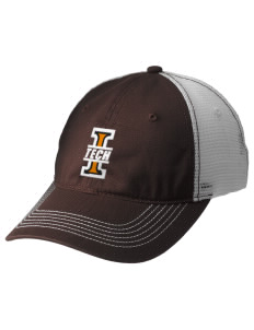 Indiana Tech Warriors Embroidered Mesh Back Cap