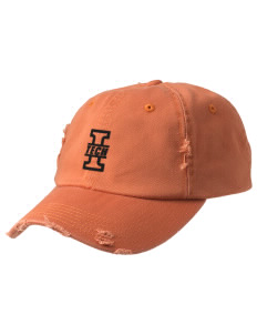 Indiana Tech Warriors Embroidered Distressed Cap