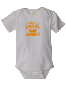 Indiana Tech Warriors Baby Zig-Zag Creeper