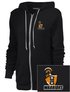 Indiana Tech Warriors Embroidered Alternative Unisex The Rocky Eco-Fleece Hooded Sweatshirt