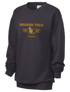 Indiana Tech Warriors Unisex 7.8 oz Lightweight Crewneck Sweatshirt