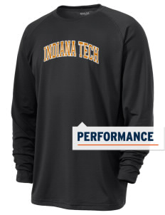 Indiana Tech Warriors Men's Ultimate Performance Long Sleeve T-Shirt