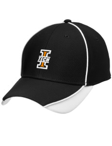 Indiana Tech Warriors Embroidered New Era Contrast Piped Performance Cap
