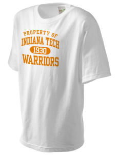 Indiana Tech Warriors Kid's Organic T-Shirt