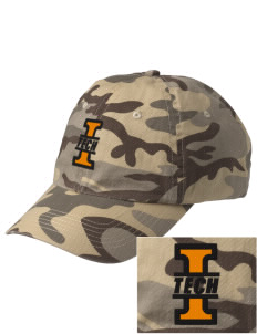 Indiana Tech Warriors Embroidered Camouflage Cotton Cap