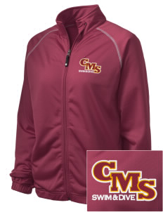 Claremont-Mudd-Scripps Men's Athletics Stags Embroidered Holloway Women's Attitude Warmup Jacket