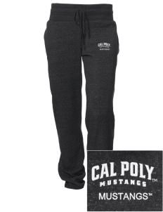 California Polytechnic State University Mustangs Embroidered Alternative Women's Unisex 6.4 oz. Costanza Gym Pant