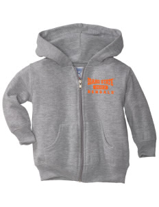 Idaho State University Bengals  Toddler Hooded Zip Up Sweatshirt w/ Pockets