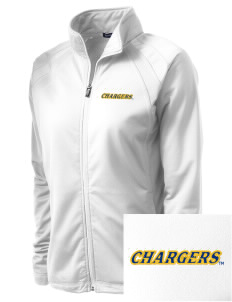 University of New Haven Chargers Embroidered Women's Tricot Track Jacket