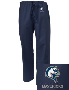 Mercy College Mavericks Embroidered Scrub Pants