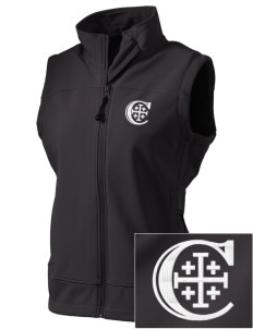 Christendom College Crusaders  Embroidered Women's Glacier Soft Shell Vest