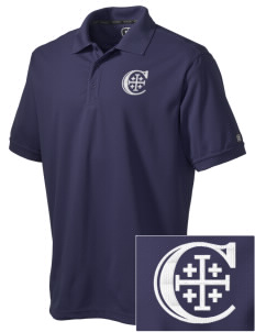Christendom College Crusaders Embroidered OGIO Men's Caliber Polo