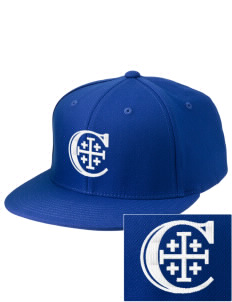 Christendom College Crusaders Embroidered Diamond Series Fitted Cap