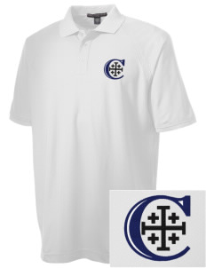 Christendom College Crusaders Embroidered Men's Technical Performance Polo