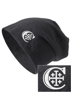 Christendom College Crusaders Embroidered Slouch Beanie