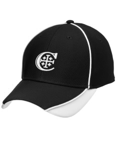 Christendom College Crusaders Embroidered New Era Contrast Piped Performance Cap