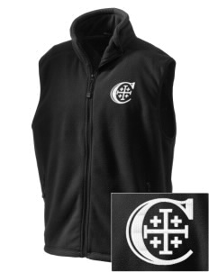 Christendom College Crusaders Embroidered Unisex Wintercept Fleece Vest