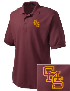 Claremont-Mudd-Scripps Women's Athletics Athenas Embroidered Men's Silk Touch Polo