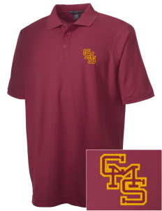 Claremont-Mudd-Scripps Women's Athletics Athenas Embroidered Men's Technical Performance Polo