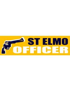 "St Elmo Police Department Bumper Sticker 11"" x 3"""