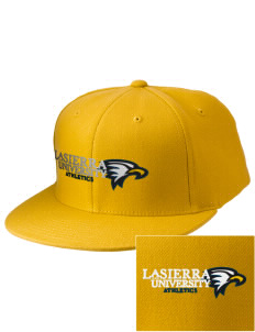 La Sierra University Golden Eagles Embroidered Diamond Series Fitted Cap
