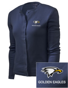 La Sierra University Golden Eagles Embroidered Women's Cardigan Sweater