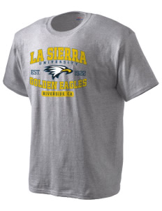La Sierra University Golden Eagles Hanes Men's T-Shirt