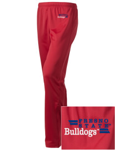 Fresno State Bulldogs Embroidered Holloway Women's Contact Warmup Pants