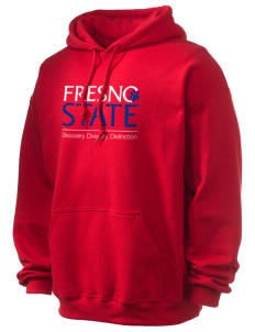 Fresno State Bulldogs Ultra Blend 50/50 Hooded Sweatshirt