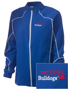 Fresno State Bulldogs Embroidered Russell Women's Full Zip Jacket