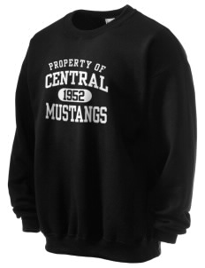 Central Baptist College Mustangs Ultra Blend 50/50 Crewneck Sweatshirt