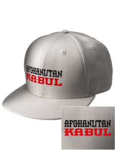 Afghanistan  Embroidered New Era Flat Bill Snapback Cap