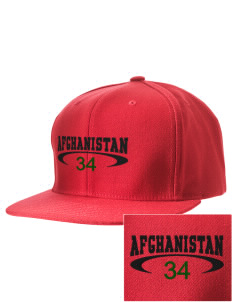 Afghanistan Embroidered D-Series Cap