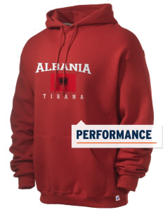 Albania Russell Men's Dri-Power Hooded Sweatshirt