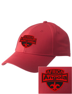 Angola  Embroidered New Era Adjustable Structured Cap