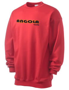 Angola Men's 7.8 oz Lightweight Crewneck Sweatshirt
