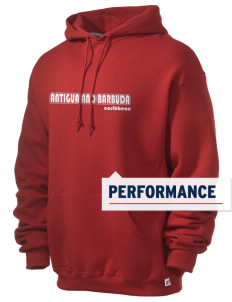 Antigua and Barbuda Russell Men's Dri-Power Hooded Sweatshirt
