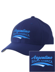 Argentina Embroidered Pro Model Fitted Cap