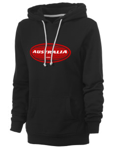 Australia Women's Core Fleece Hooded Sweatshirt