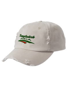 Bangladesh Embroidered Distressed Cap