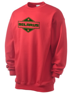 Belarus Men's 7.8 oz Lightweight Crewneck Sweatshirt
