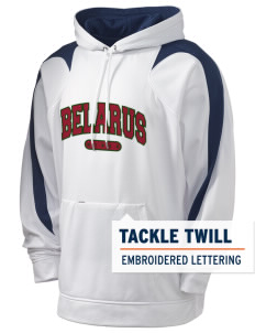 Belarus Holloway Men's Sports Fleece Hooded Sweatshirt with Tackle Twill