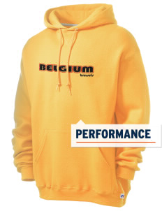 Belgium Russell Men's Dri-Power Hooded Sweatshirt