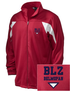 Belize Embroidered Holloway Men's Full-Zip Track Jacket