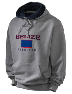 Belize Champion Men's Hooded Sweatshirt