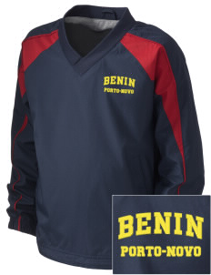 Benin Embroidered Holloway Kid's Victory Warm Up