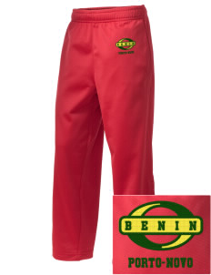Benin Embroidered Holloway Kid's Contact Warmup Pants